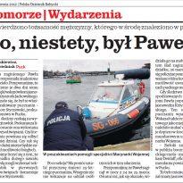 Dziennik Bałtycki Pomorze - To niestety był Paweł