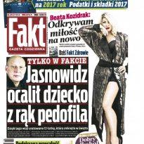 Fakt - Jasnowidz ocalił dziecko z rąk pedofila
