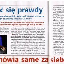 Fakty mówią same za siebie - Policja nie powinna odcinać się od współpracy z jasnowidzem Krzysztofem Jackowskim
