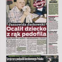 Jasnowidz Jackowski ocalił dziecko z rąk pedofila