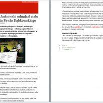 Jasnowidz Krzysztof Jackowski odnalazł ciało zaginionego policjanta Pawła Dąbkowskiego