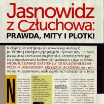 Jasnowidz z Człuchowa - prawda, mity i plotki cz. 1