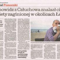 Jasnowidz z Człuchowa znalazł ciało kobiety zaginionej w okolicach Łodzi