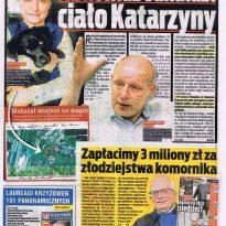 Krzysztof Jackowski miał wizję - Jasnowidz odnalazł ciało Katarzyny
