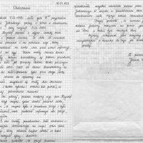 Oświadczenie 16-03-1999
