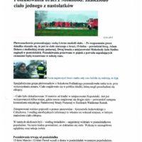 Poszukiwania braci z Mokobód - Krzysztof Jackowski wskazał ciało