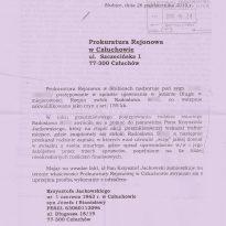 Prokuratura Rejonowa w Człuchowie