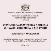 Spotkanie Współpraca Jasnowidza z Policją w kraju i zagranicą i nie tylko
