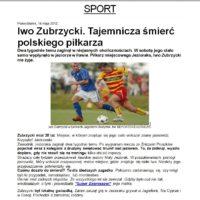 Tajemnicza śmierć polskiego piłkarza, jego ciało wskazał Krzysztof Jackowski