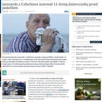 Jasnowidz z Człuchowa uratował 12-letnią dziewczynkę przed pedofilem
