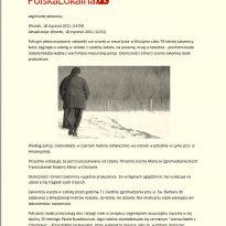 Policyjni płetwonurkowie dzięki pomocy Krzysztofa Jackowskiego odnaleźli w rzece Łynie w Olsztynie ciało 70-letniej zakonnicy.
