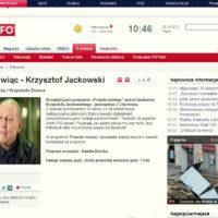 Prawdę mówiąc - Krzysztof Jackowski