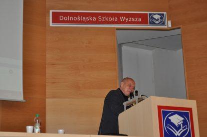 Wykład w Dolnośląskiej Szkole Wyższej Wrocław 2013 1