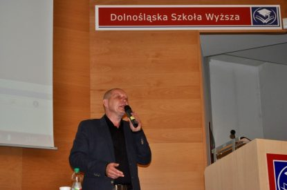 Wykład w Dolnośląskiej Szkole Wyższej Wrocław 2013 2